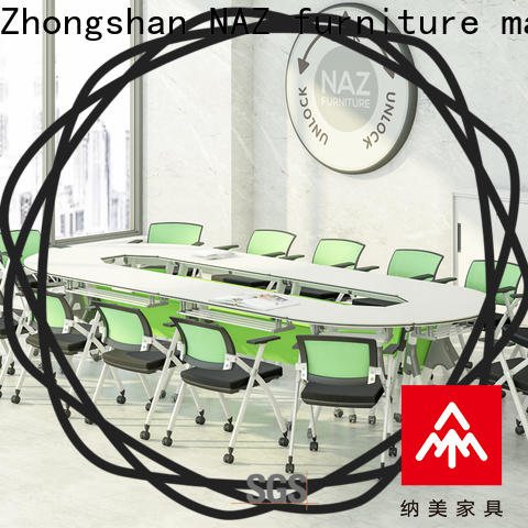 NAZ furniture comfortable portable conference room tables manufacturer for meeting room