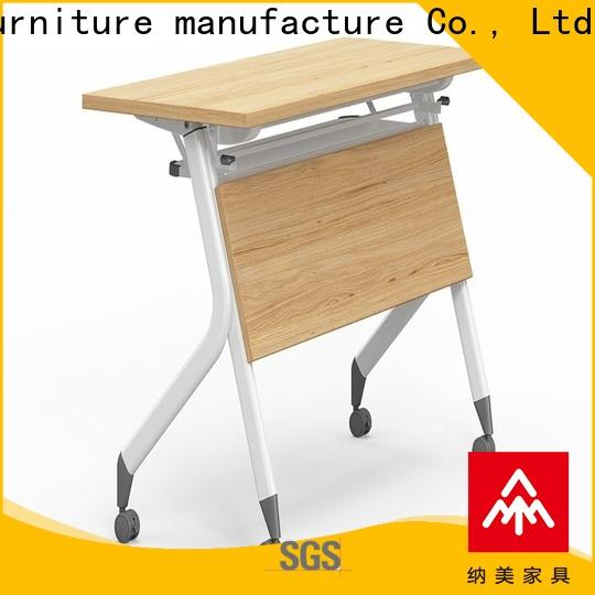 professional foldable training table front for conference for training room