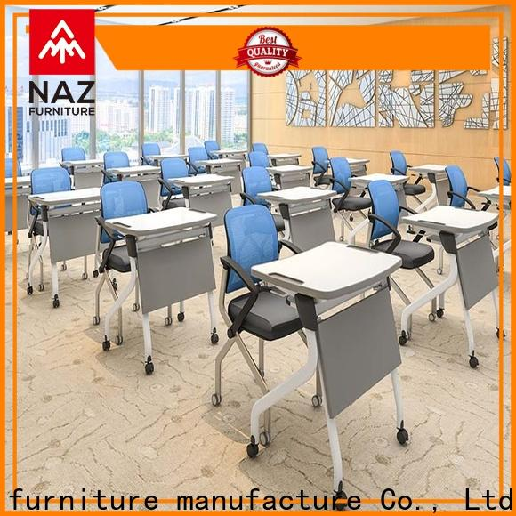 NAZ furniture simple folding student desk wholesale for meeting rooms