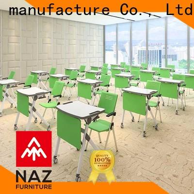 NAZ furniture school folding study desk factory for meeting rooms