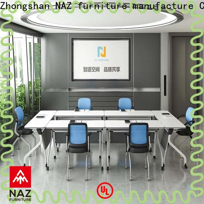 NAZ furniture aluminum mobile conference table for sale for training room