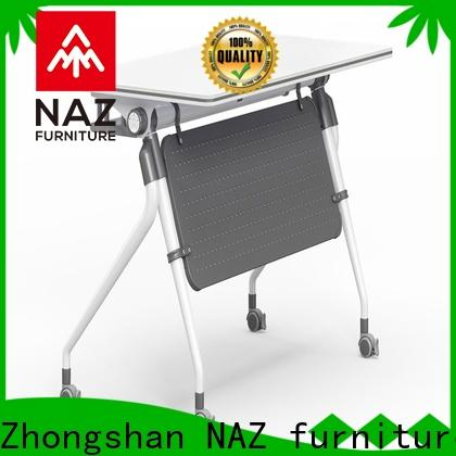 NAZ furniture front aluminum training table supply for home