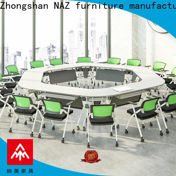 NAZ furniture ft017c modular conference table on wheels
