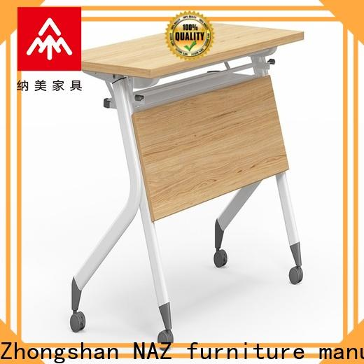 NAZ furniture writing training tables and chairs for sale for meeting room