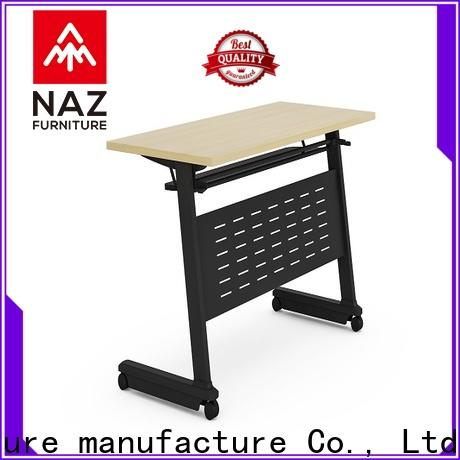 NAZ furniture writing office training furniture for sale for training room