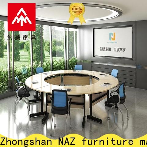 NAZ furniture movable boardroom table for conference