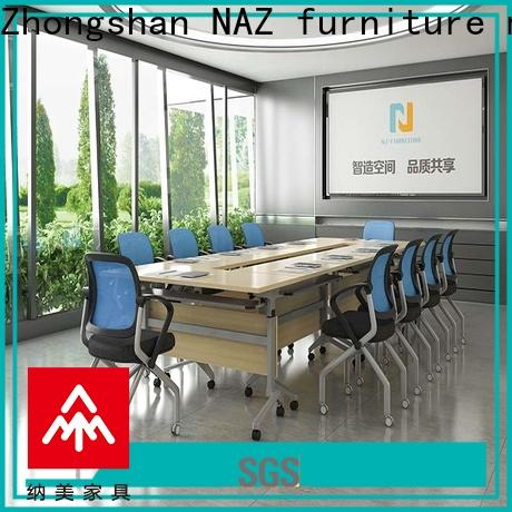 NAZ furniture color white conference table for sale