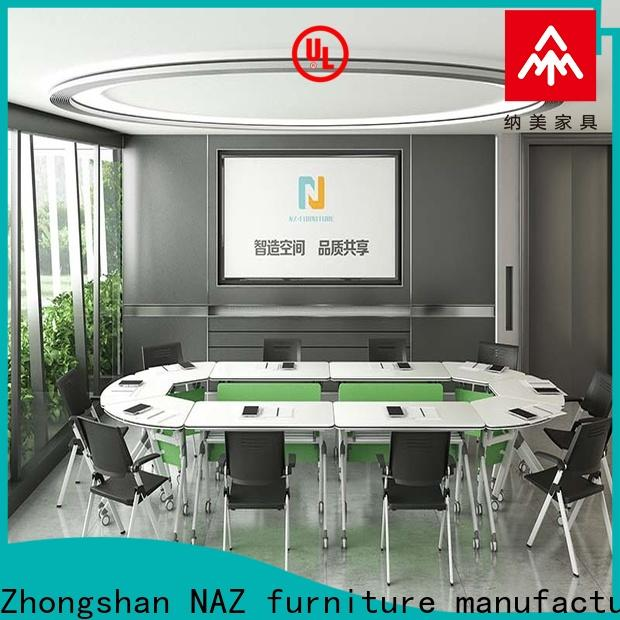 NAZ furniture ft015c flip top conference tables for conference for school