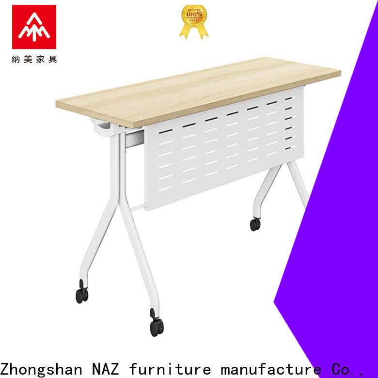 NAZ furniture table training desk supply for meeting room