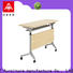 NAZ furniture trapezoid mobile training tables with wheels for meeting room
