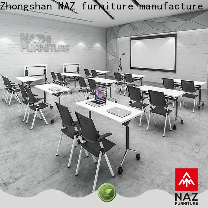 professional folding conference room tables with wheels w20002400d10001200h750mm for conference for office
