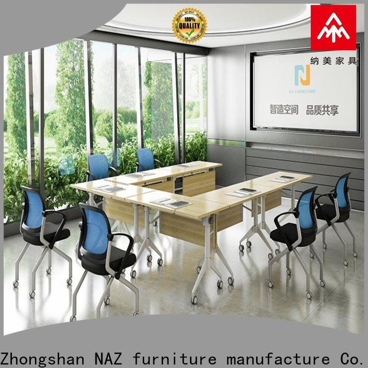 professional folding conference room tables with wheels ft003c for conference for meeting room