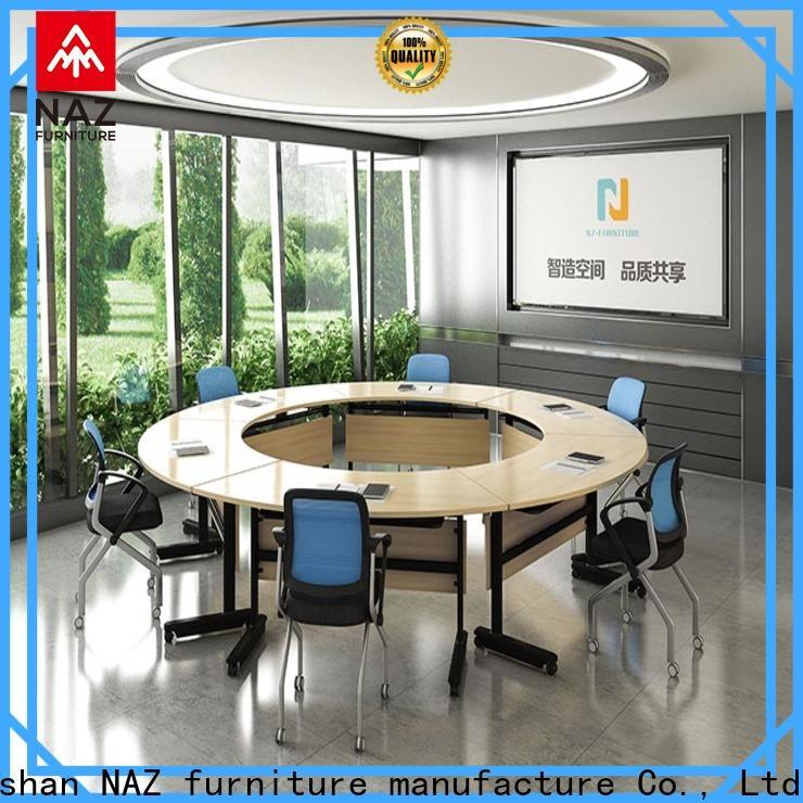 NAZ furniture professional modular conference room tables manufacturer for meeting room