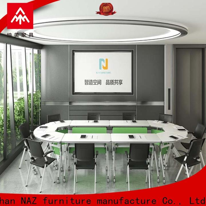 durable 12 conference table folding manufacturer for training room