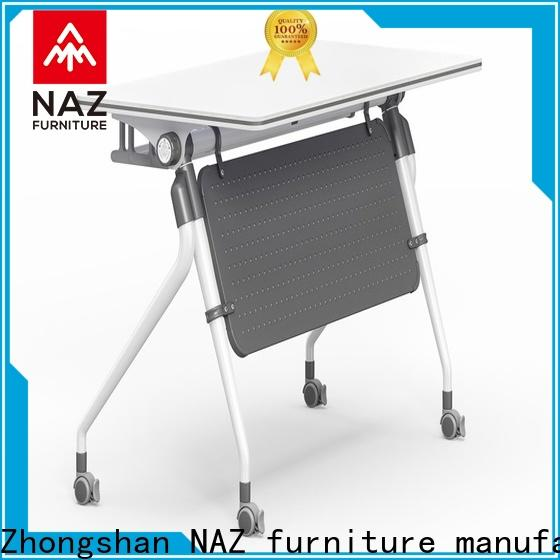 computer training tables and chairs trapezoid supply for school