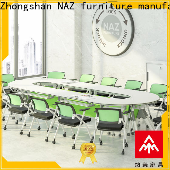 comfortable modular conference room tables ft010c for sale for training room