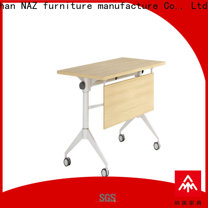 NAZ furniture save flip top training tables supply for school