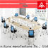 NAZ furniture professional white conference table for conference for school