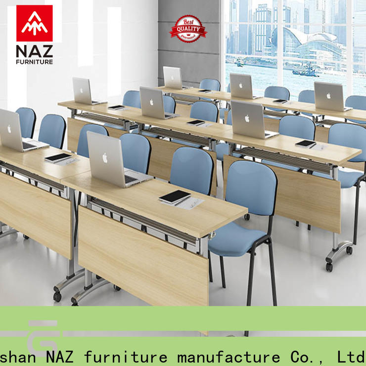 NAZ furniture end u shaped conference table on wheels