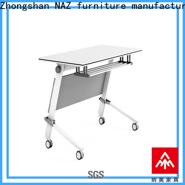 NAZ furniture professional folding training table supply for meeting room