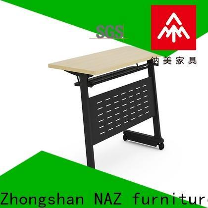 trapezoid office training furniture folding supply