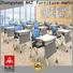 NAZ furniture simple folding study desk on wheels for training rooms