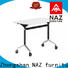 NAZ furniture fahsion office training tables with wheels for home