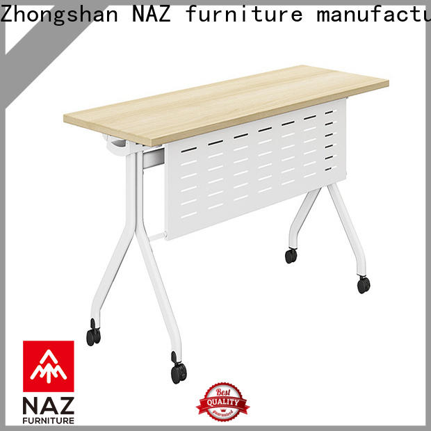NAZ furniture computer office training furniture with wheels for meeting room