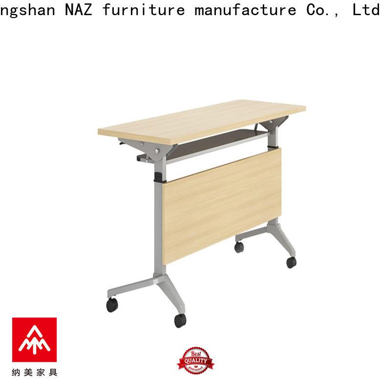 NAZ furniture aluminum training table multi purpose for school