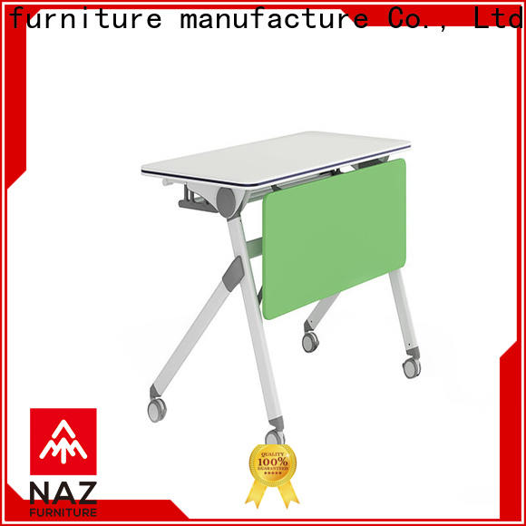 trapezoid training room furniture designed for conference for office