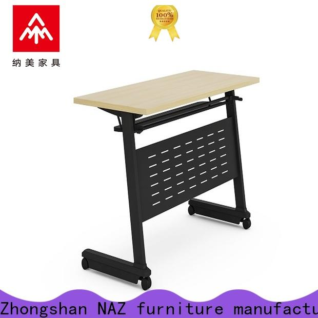 NAZ furniture table foldable training table for sale