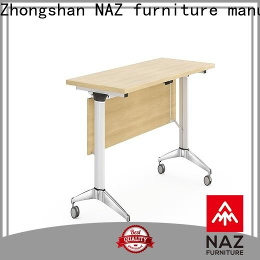 trapezoid conference training tables castors supply for school