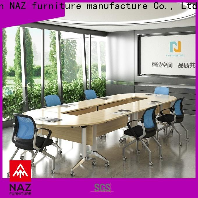 NAZ furniture ft003c conference room table and chairs for conference for school