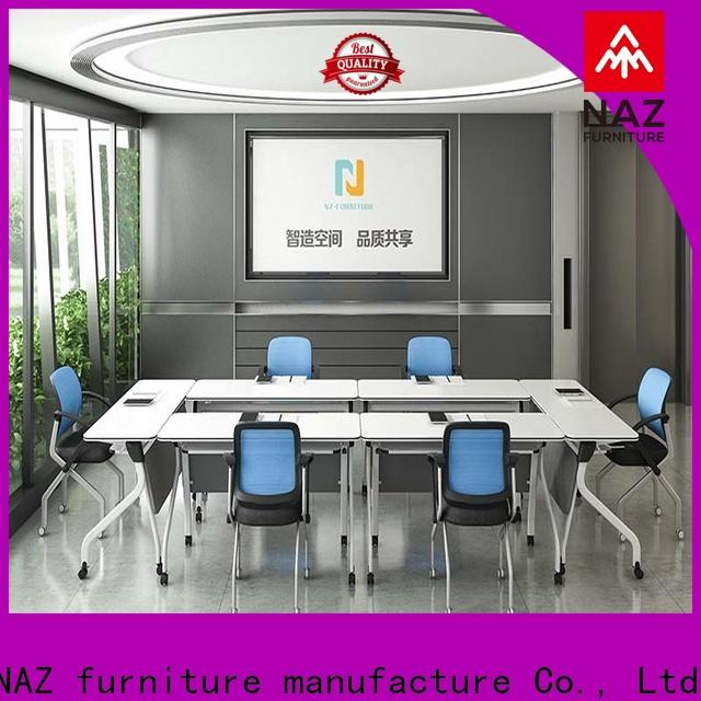 professional meeting room table ft031c on wheels for office