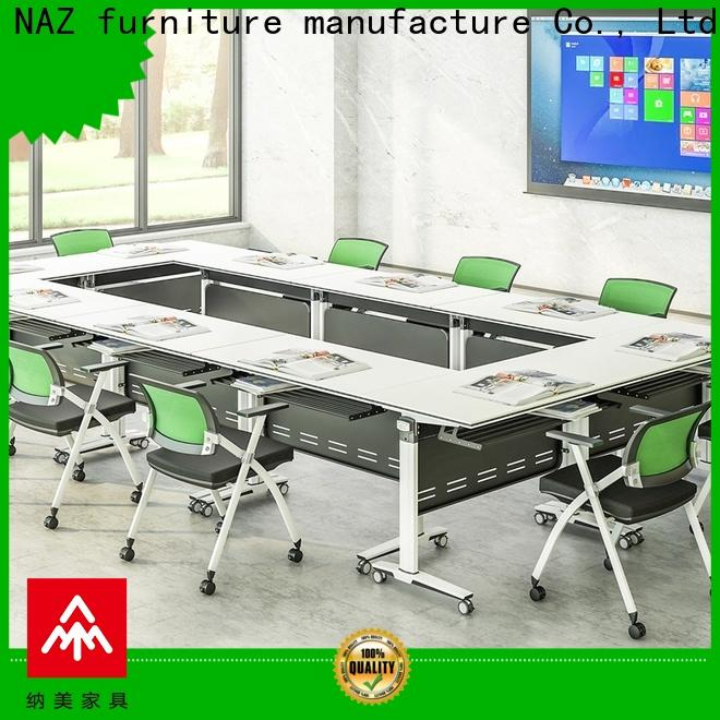 NAZ furniture ft015c folding conference room tables with wheels for sale for meeting room