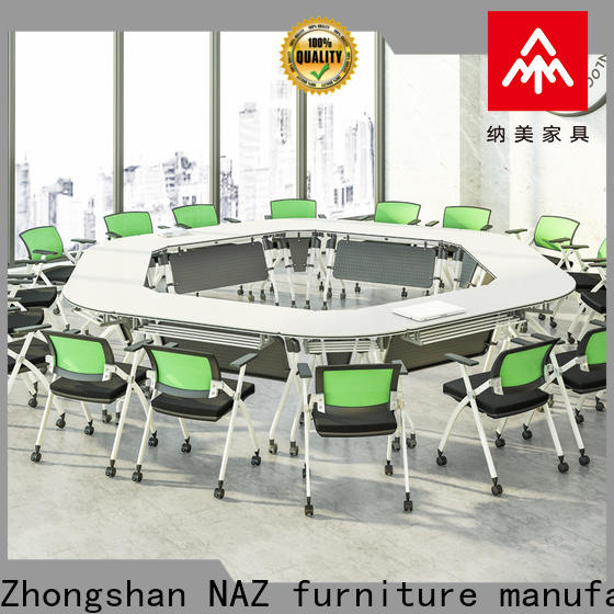 NAZ furniture comfortable modular conference room tables manufacturer for meeting room