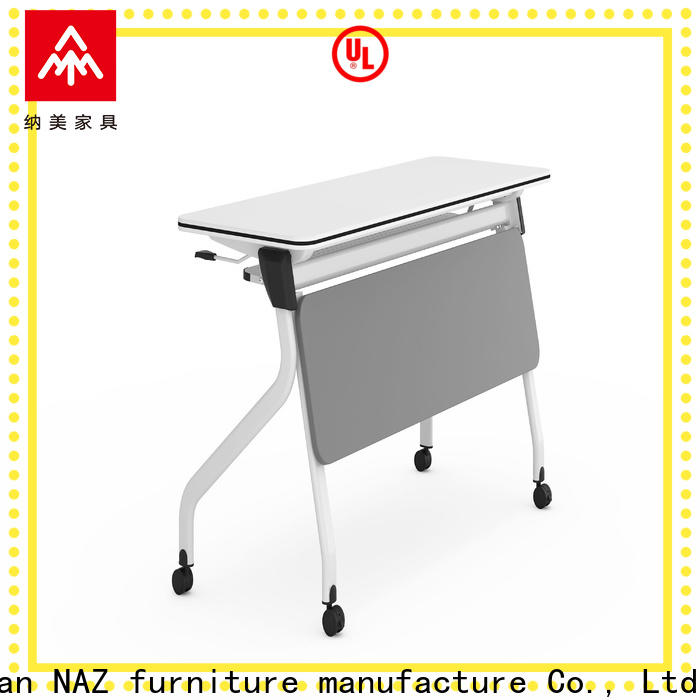 NAZ furniture 8001200140016001800mm nesting training tables supply for school