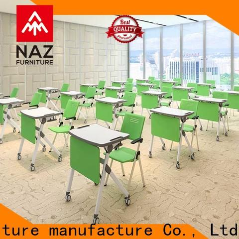 comfortable classroom training tables 8001200mm on wheels for meeting rooms