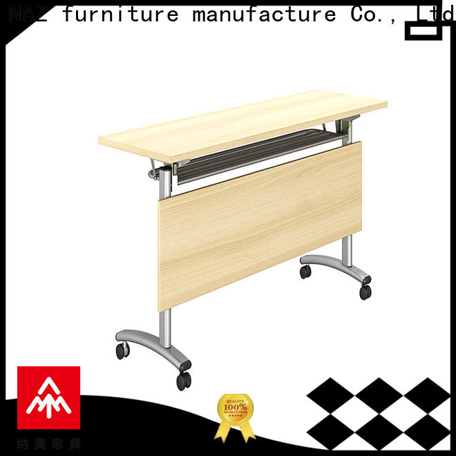 NAZ furniture training table with wheels