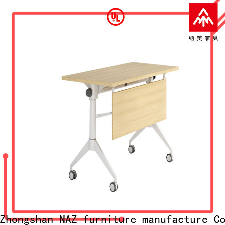 NAZ furniture writing foldable training table for conference for home