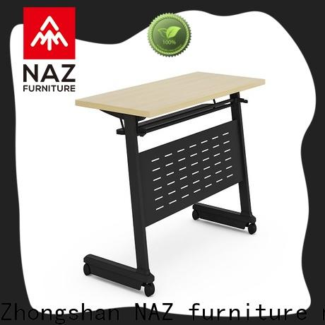 NAZ furniture flip top training tables for conference for home