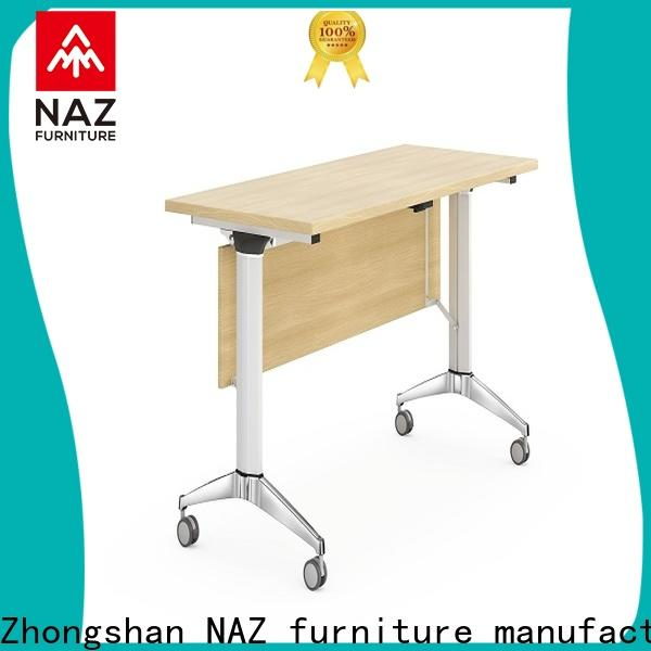 NAZ furniture writing training room tables for conference for office