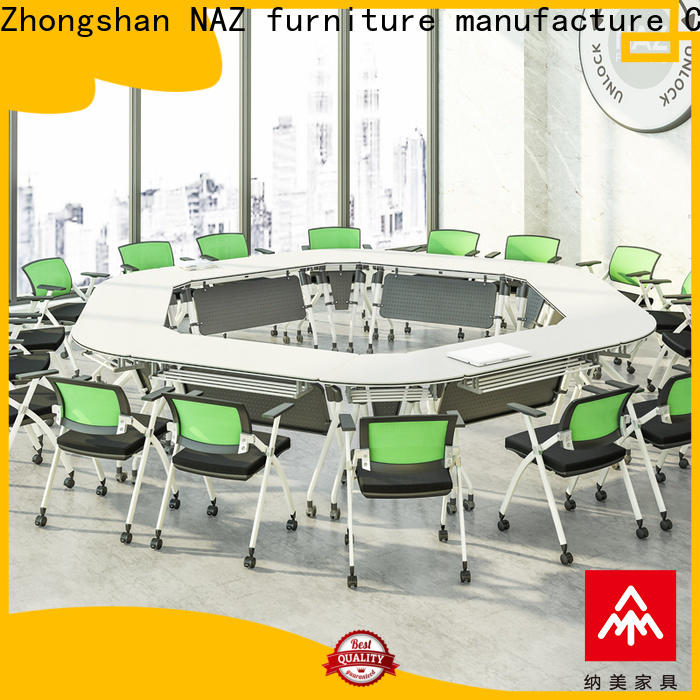 NAZ furniture shape oval conference table for sale for training room