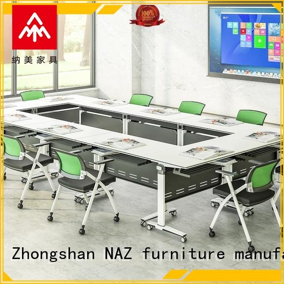 NAZ furniture durable mobile office table meeting for school