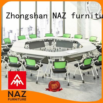 comfortable meeting room table steel on wheels for meeting room