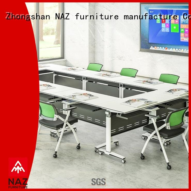 NAZ furniture movable modular conference room tables manufacturer for office