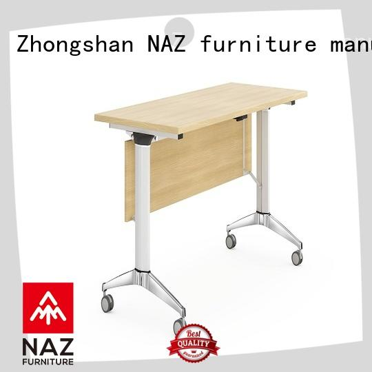 NAZ furniture trapezoid training room tables for conference for office
