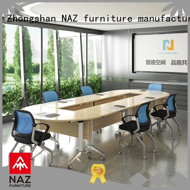 NAZ furniture steel conference room tables folding for sale for meeting room