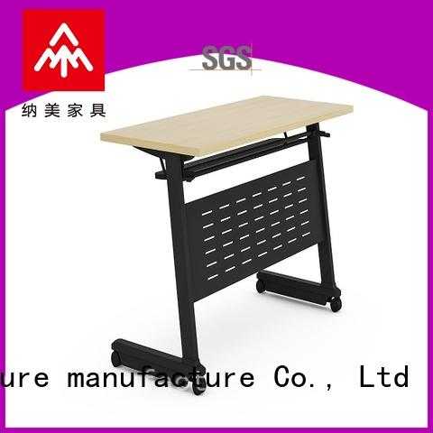 NAZ furniture writing training desk for conference for training room