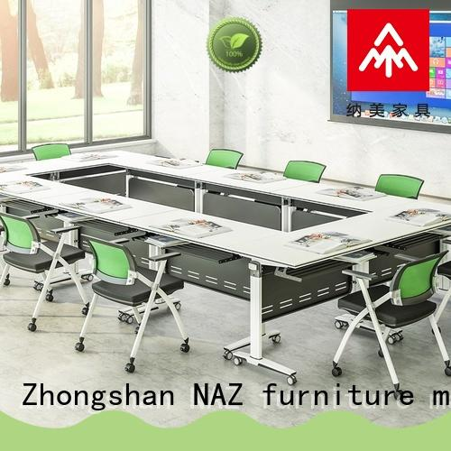 NAZ furniture movable conference room tables folding for sale for meeting room